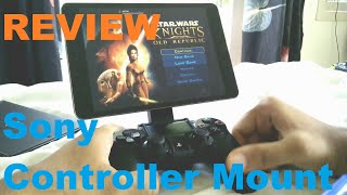 Sony Controller Mount Review (Shield tablet, iPad,xperia z3 tablet)