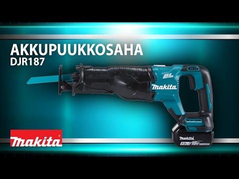 Makita akkupuukkosaha DJR187