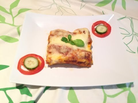 خطوة بخطوة بالفيديو كانيلوني بالدجاج و الجبن