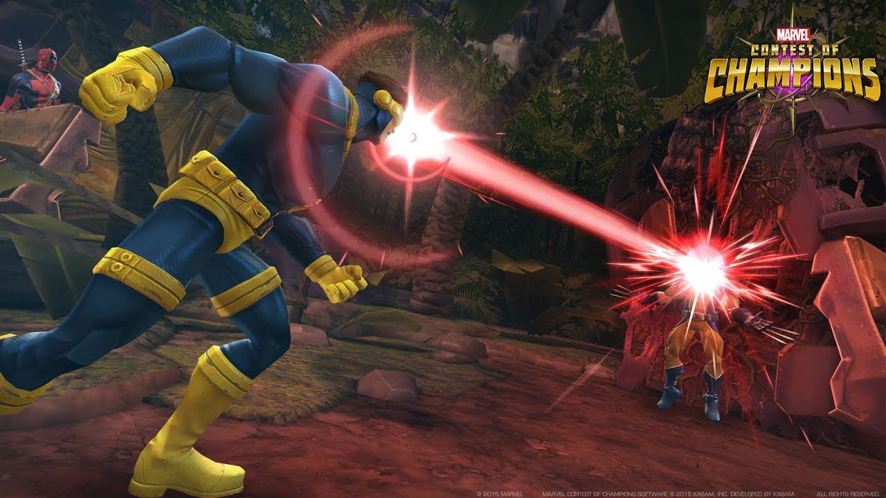 Marvel Contest of Champions Cyclops Spotlight | MMOHuts