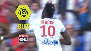 But Bertrand TRAORE (75') / Olympique Lyonnais - Girondins de Bordeaux (3-3)  / 2017-18