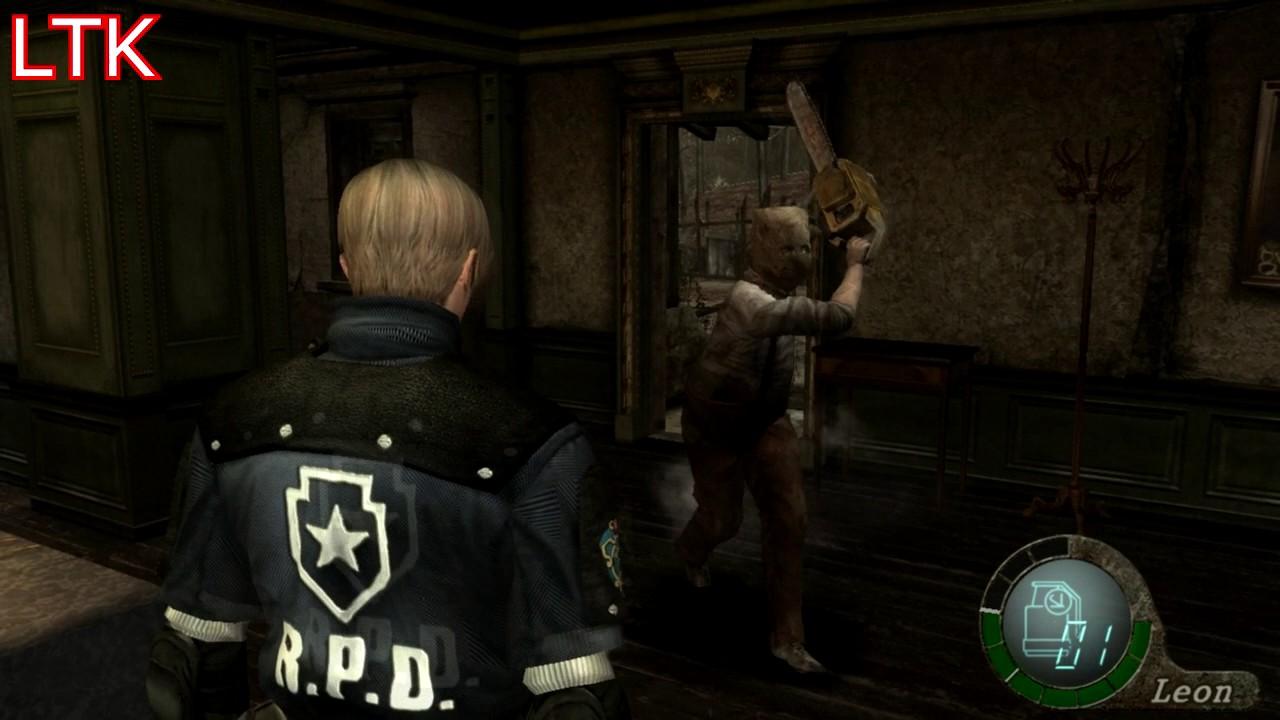 Resident Evil 4 Chainsaw Guy Resident Evil 4 HD - H...