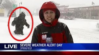 top 5 most mysterious things caught on live tv