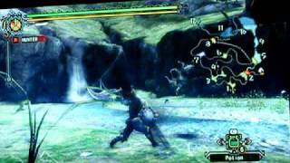 Monster Hunter Tri (3) Wii Gameplay [English Patch]