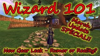 Wizard101: SPECIAL Update: Epic New World Gear - Rumor or Reality for Polaris Empyrea or Mirage?