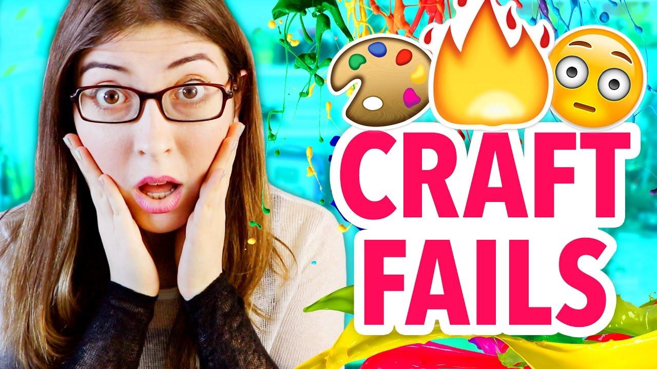 Worst Diy Craft Fails Of 2016 Karenkavett Youtube