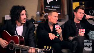 APMAs 2015: Crown The Empire interviewed in the Gibson Backstage Lounge