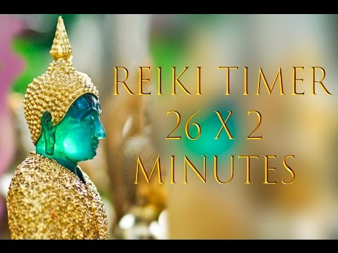 Reiki Healing Music with 2 Minute Timer