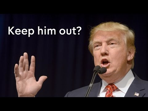 Donald Trump – should he be banned from entering the UK?