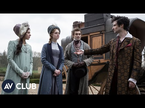 Elle Fanning and the cast of Mary Shelley didn't know much about the author before reading the scrip streaming vf