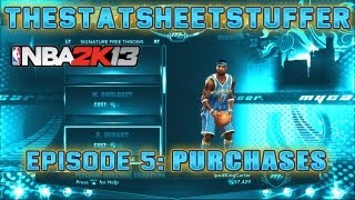 NBA 2K13 My Career - Episode 5 - How To Spend 75K VC | How To Have Two My Players & Two My Careers