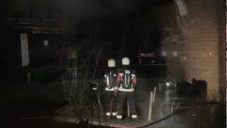Brandweer Belgie assisteert bij grote brand Koewacht
