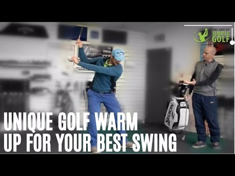 Best Unique Golf Swing Warm Up That Creates Speed, Consistency And Power in 3 Minutes