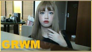 figcaption (ENG)같이 준비해요-한국에서 한 데일리 메이크업+귀찮을때 하는 헤어 // GRWM Daily makeup I did in Korea!+lazy day hair style