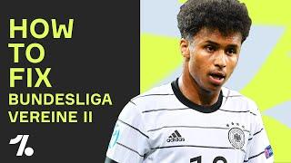 Karim Adeyemi in dİe Bundesliga?! | HOW TO FIX BUNDESLIGA VEREINE (Part 2)