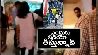 naga chaitanya samantha spotted hyderabad gvk mall   tfpc