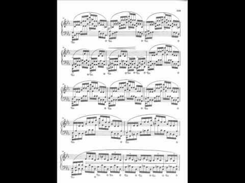 Pollini plays Chopin Etude Op.25 No.12 (Ocean)