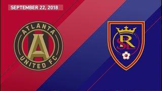 HIGHLIGHTS: Atlanta United vs Real Salt Lake | September 22, 2018