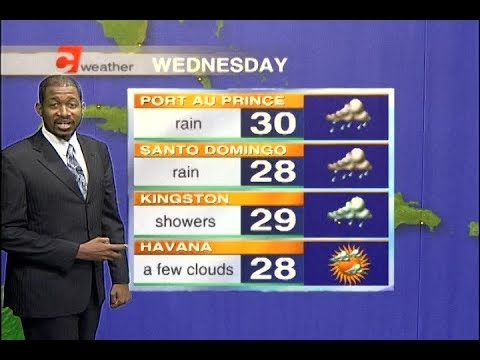 Caribbean Travel Weather - Wednesday November 15th, 2017
