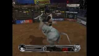 Final de rodeio em Dallas no pro bull rider