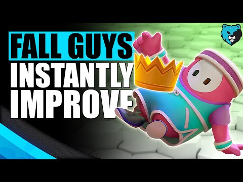 12 Tips to INSTANTLY Improve at Fall Guys Tips and Tricks