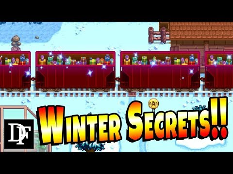Winter Secrets, Easter Eggs And Festivals! - Stardew Valley 1.3