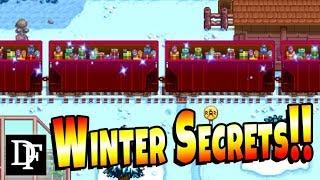 Winter Secrets, Easter Eggs and Festivals! - Stardew Valley 1.3