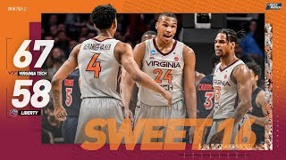 Virginia Tech vs. Liberty: Second round NCAA tournament extended highlights