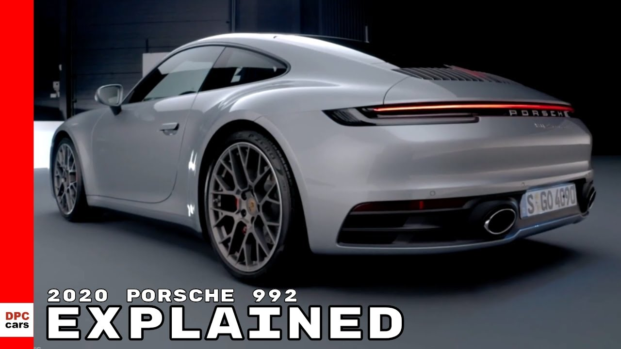 2020 porsche 992 911 explained youtube. Black Bedroom Furniture Sets. Home Design Ideas