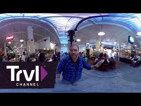 JOSH GATES 360: Tour of LA's Grand Central Market