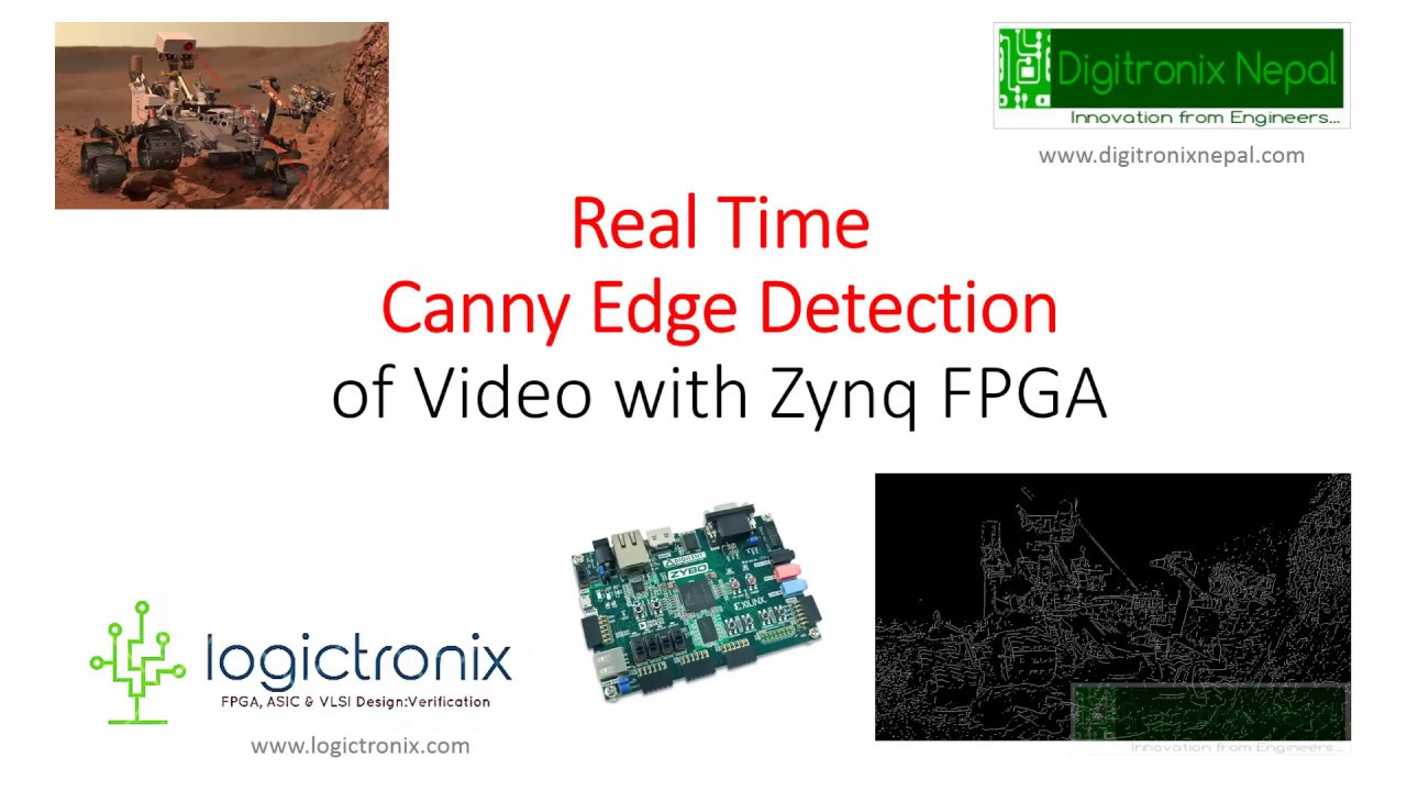 Real Time Canny Edge Detection with Zybo FPGA: Sobel & Canny Edge Detection  with Zynq