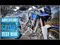 New Africa Twin Adventure Sports DCT Test Ride UK