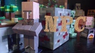 Papercraft - minecraft: Npc villager