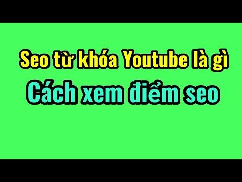Seo từ khóa Youtube là gì Cách xem điểm seo./do quach vlogs.