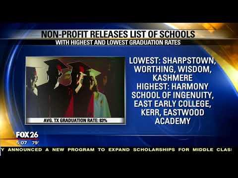 Harmony School of Ingenuity Graduation Rates are High (Fox 26 Houston 9-18-18)