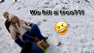 We hit a tree??? / Mini Flagstaff trip