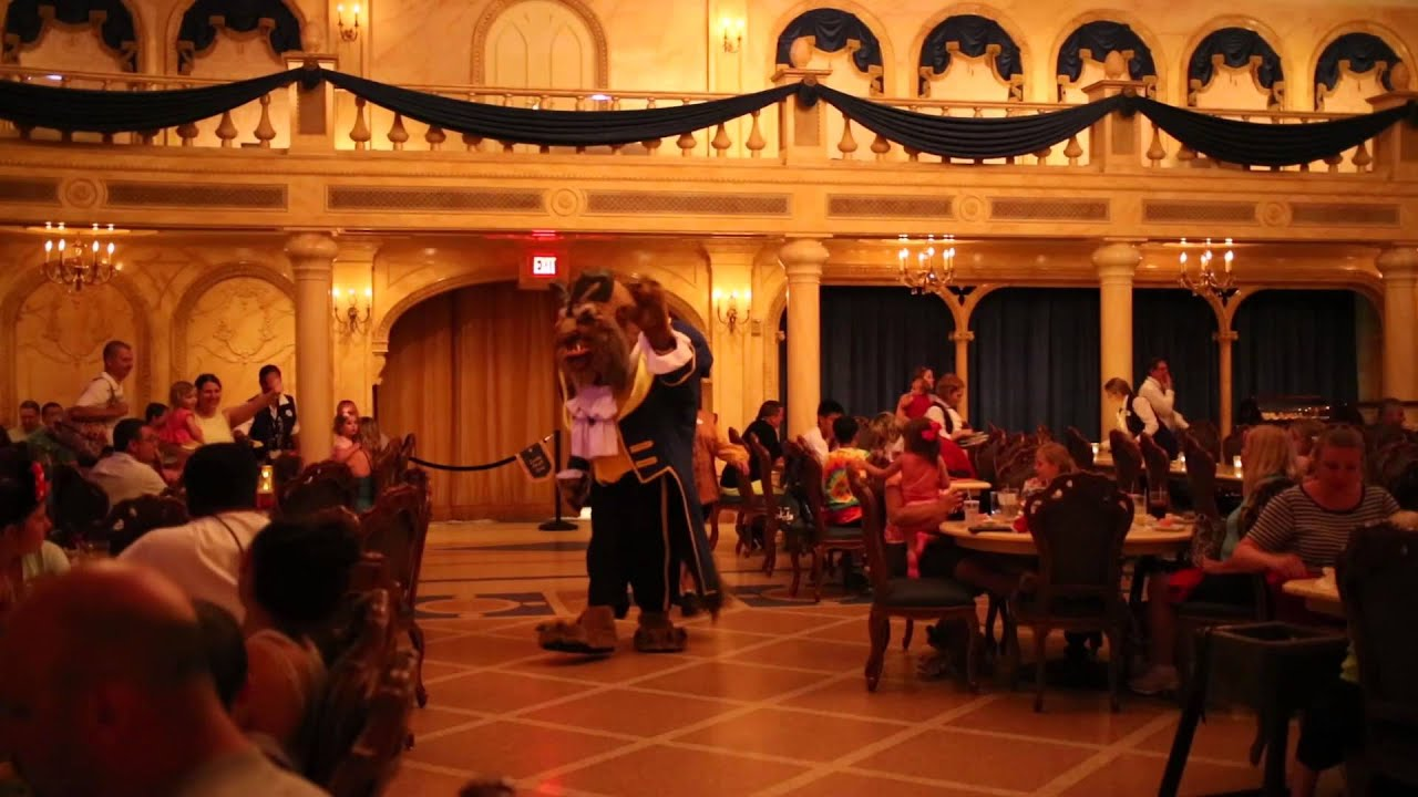 Disney world be our guest restaurant 1080 youtube for 3 dining rooms at be our guest