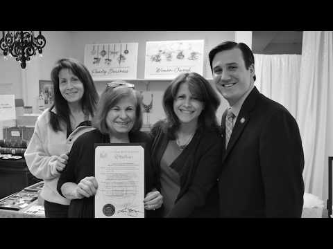 b90f9075d Anne Koplik Designs Receives State Assembly Proclamation For Jewelry  Program That Gives Back - YouTube