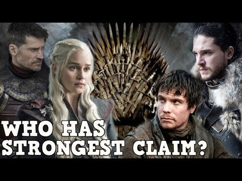 Who will win the Game of Thrones? | Claim to the Iron Throne Explained