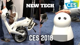 Top New Tech of 2018 - ROBOTS/Ai WILL RULE!