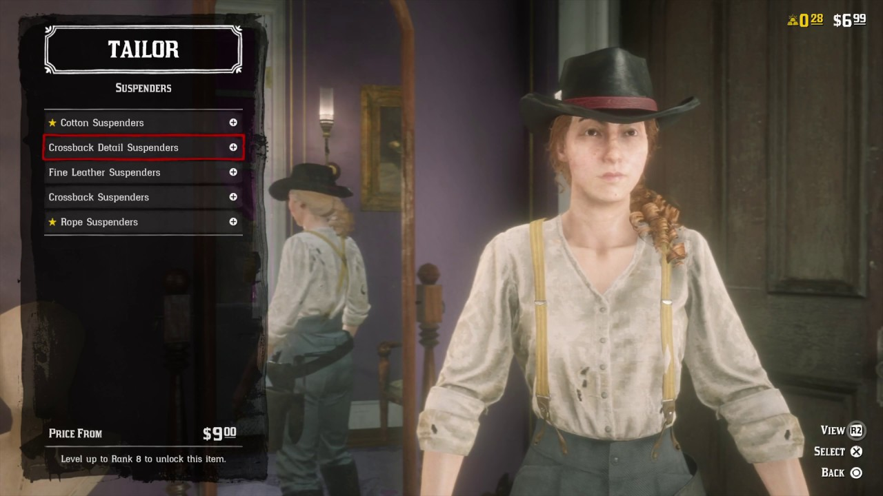 Hair Style Rdr2: Online : ALL FEMALE OUTLAW