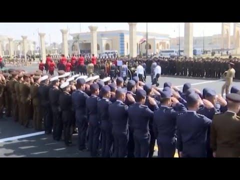 В Каире прошли похороны бывшего президента Египта Хосни Мубарака