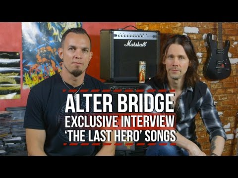 Alter Bridge Discuss Songs From 'The Last Hero' Album