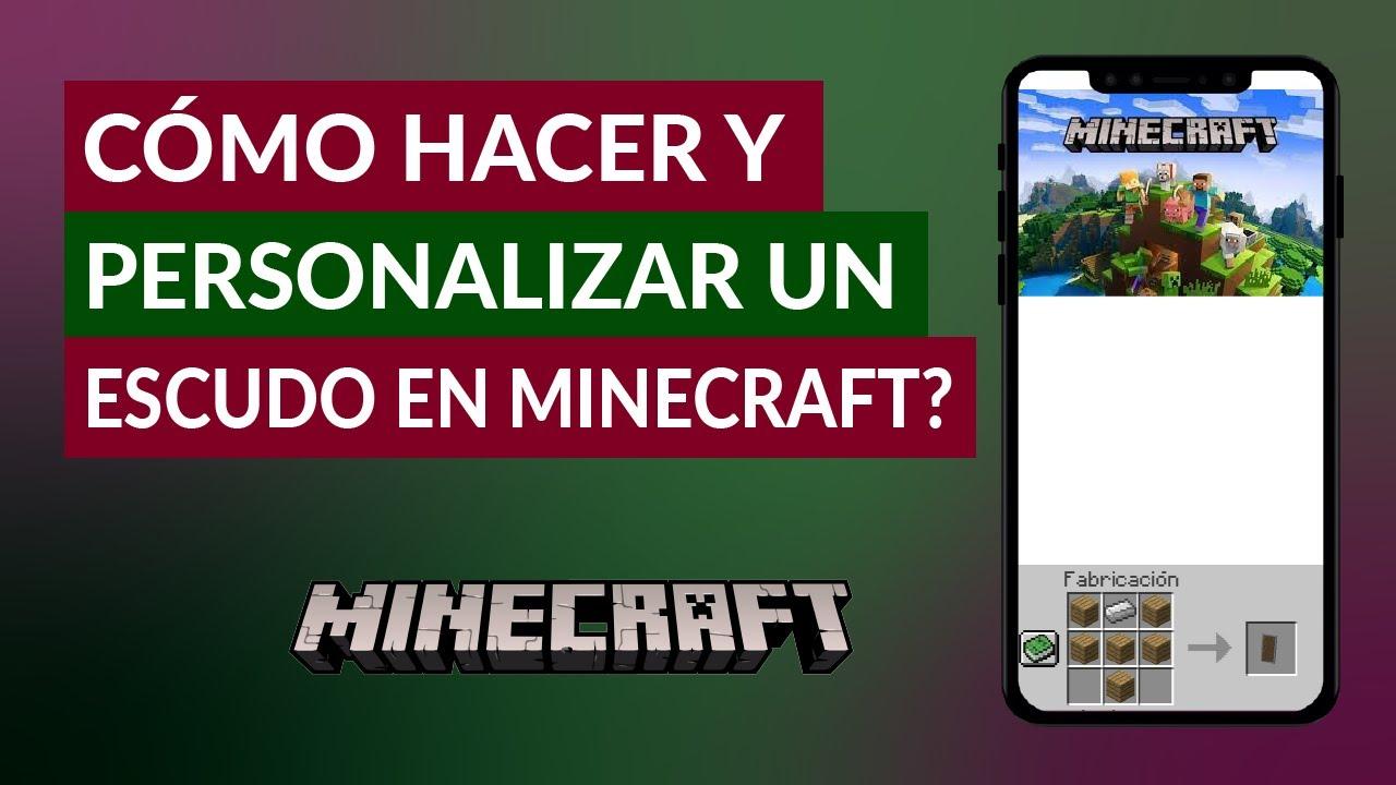 Cómo Hacer y Personalizar un Escudo en Minecraft - Crafteo Escudo | Mira  Cómo Se Hace