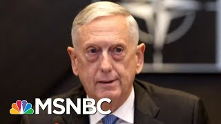 Woodward: Mattis' Mom Asks Him 'How Can You Work For This Man?' | Morning Joe | MSNBC