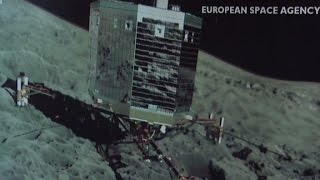 Rosetta spacecraft becomes the first to orbit a comet
