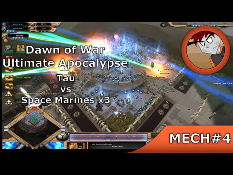 DoW: Ultimate Apocalypse - Tau Vs Space Marines X3