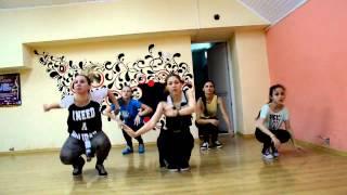 Dancehall by Lena Potapova. Открытый урок