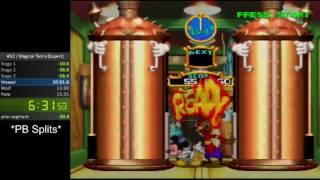 N64 - Magical Tetris Challenge - Magical Tetris Speedrun (Expert) - 10:42 IGT (11:52 RTA)