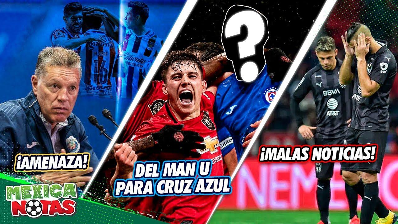 ¡Peláez MANDA ADVERTENCIA! | ¿Jugador de MAN U a Cruz Azul? | PÉSIMAS NOTICIAS para Rayados